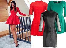 Sukienki na randkę: czerwony model Klaudii Halejcio to strzał w dziesiątkę!