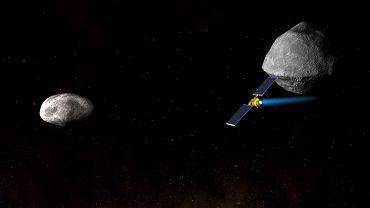 Sonda DART w 2020 r. ma zmienić tor asteroidy Didymoon