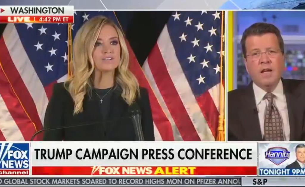 USA. Fox News przerywa wystąpienie rzeczniczki Białego Domu