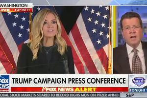 """USA. Fox News przerywa wystąpienie rzeczniczki Trumpa. """"Nie mogę spokojnie tego pokazywać"""""""