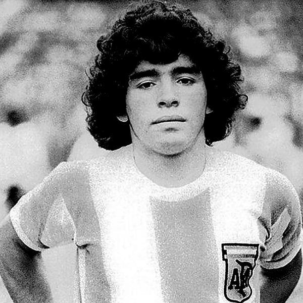 Zmarła Diego Maradona