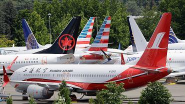 Uziemione Boeingi 737 Max