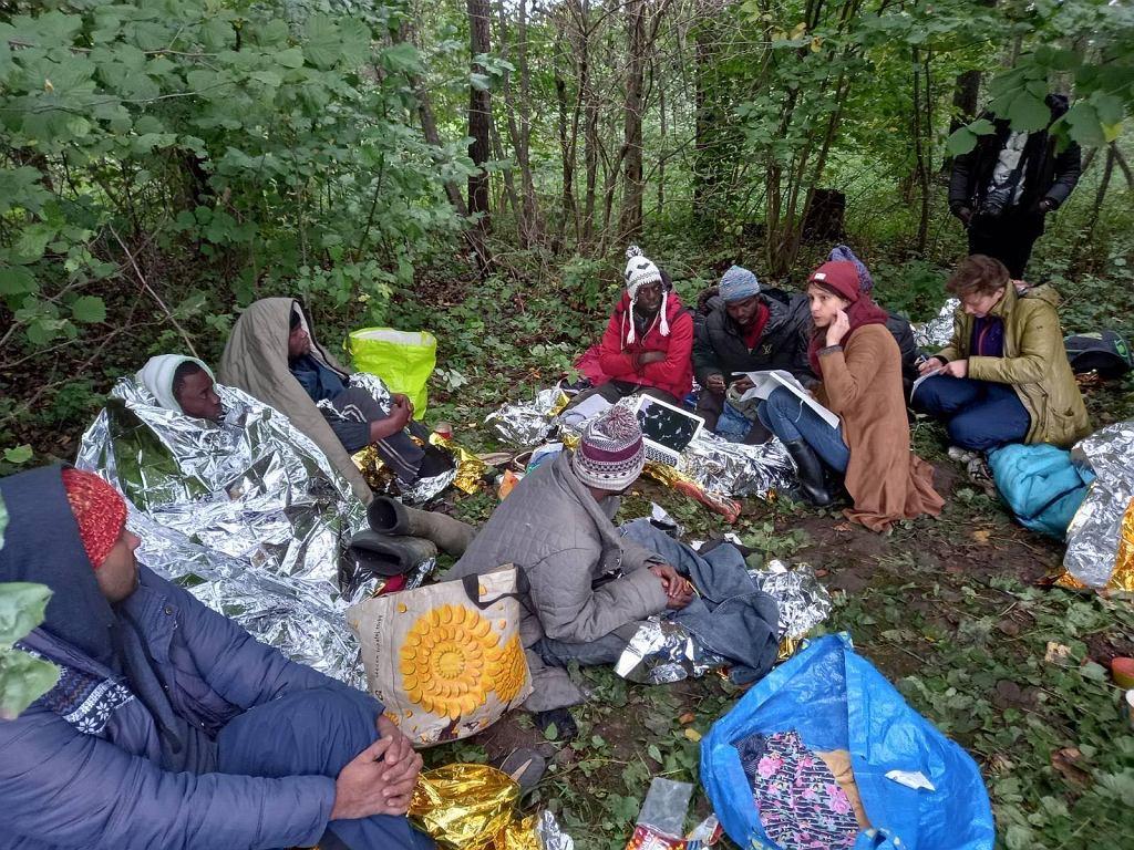 Trwa kryzys migracyjny na granicy polsko-białoruskiej