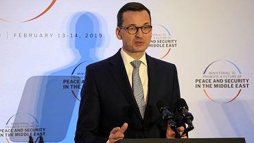 Konferencja bliskowschodnia na Stadionie Narodowym w Warszawie