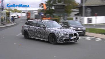 BMW M3 Touring w kamuflażu