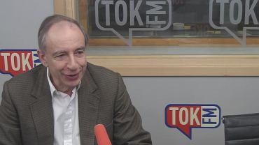 Władysław Teofil Bartoszewski w studiu TOK FM