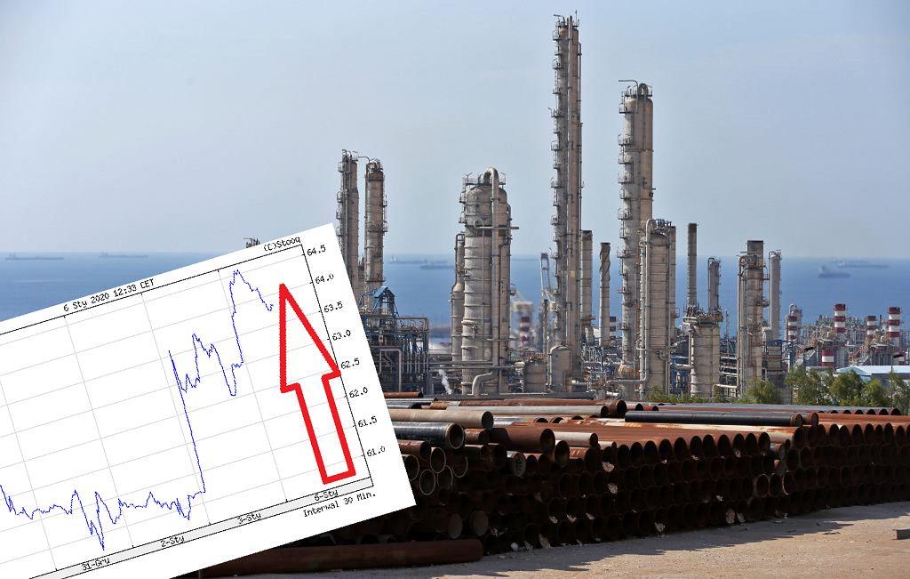 Ropa naftowa drożej po ataku USA na irańskiego generała