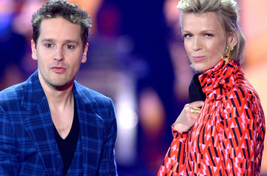 Krzysztof Zalewski i Magda Mołek
