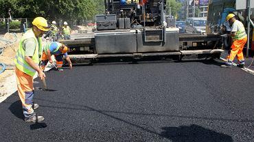 Przebudowa ulicy Wołoskiej