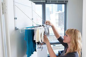 Suszarki na pranie idealne do małych mieszkań