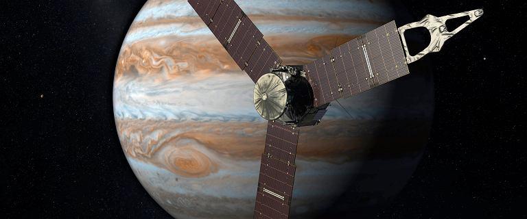 Jowisz mógł zderzyć się z planetą 10 razy większą od Ziemi