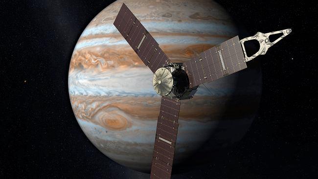 Jowisz mógł zderzyć się z planetą 10 razy większą od Ziemi. To wyjaśnia zagadkę jego jądra