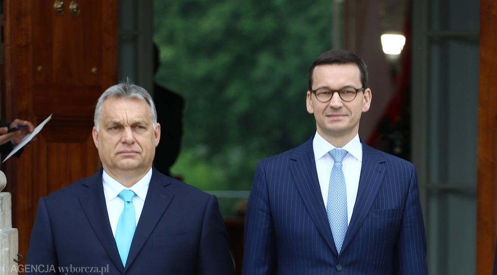 Mateusz Morawiecki i Wiktor Orban o polsko-węgierskiej przyjaźni