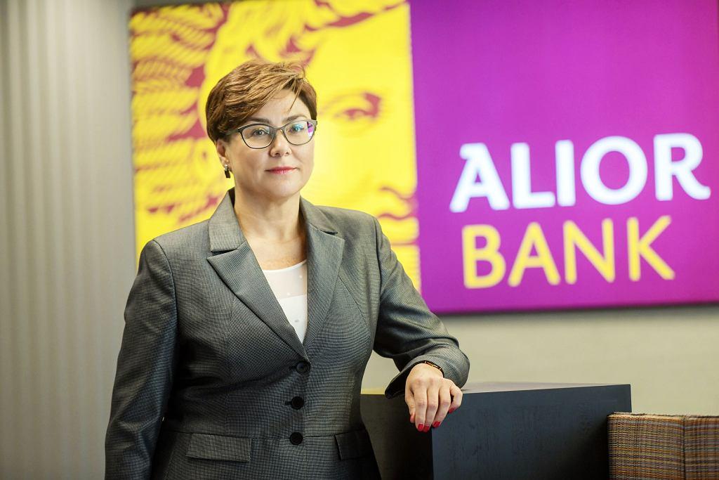 Iwona Duda, była prezes Alior Banku