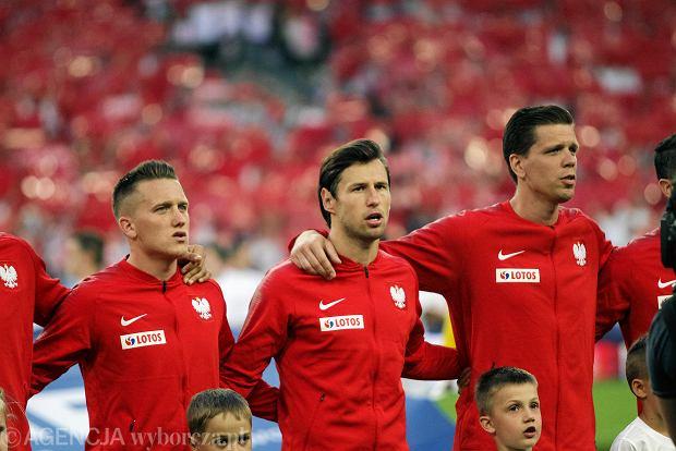 Polska - Chile 2:2 w Poznaniu. Piotr Zieliński, Grzegorz Krychowiak i Wojciech Szczęsny