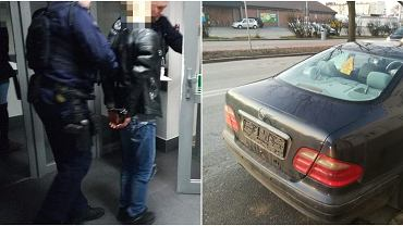 Głogów. Policyjny pościg za kierowcą mercedesa. W środku czterech dorosłych pasażerów - wszyscy pod wpływem narkotyków - oraz kilkumiesięczne dzieci