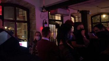 Impreza w pubie w Olsztynie