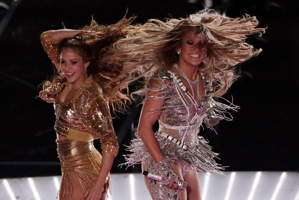49ers - Chiefs, Super Bowl, Jennifer Lopez i Shakira