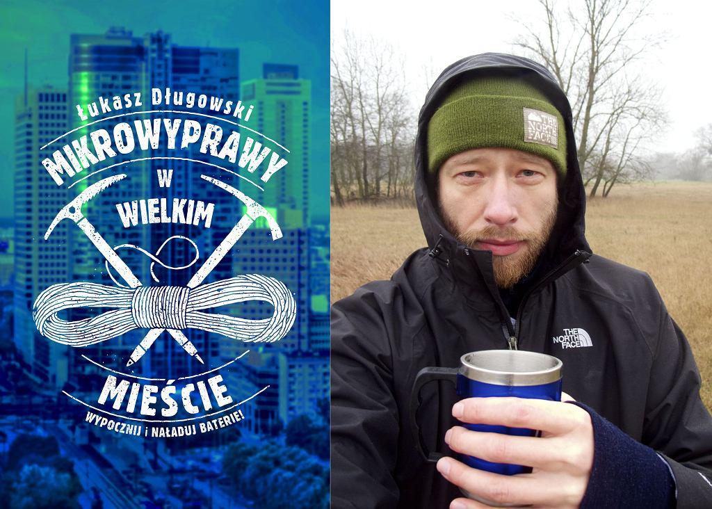 Mikrowyprawy w wielkim mieście, Łukasz Długowski MUZA SA. Na zdjęciu autor z herbatą.