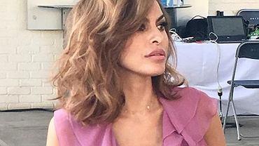 Eva Mendes obcięła włosy. Postawiła na modną fryzurę, która odmładza. Aktorka wygląda teraz jak nastolatka