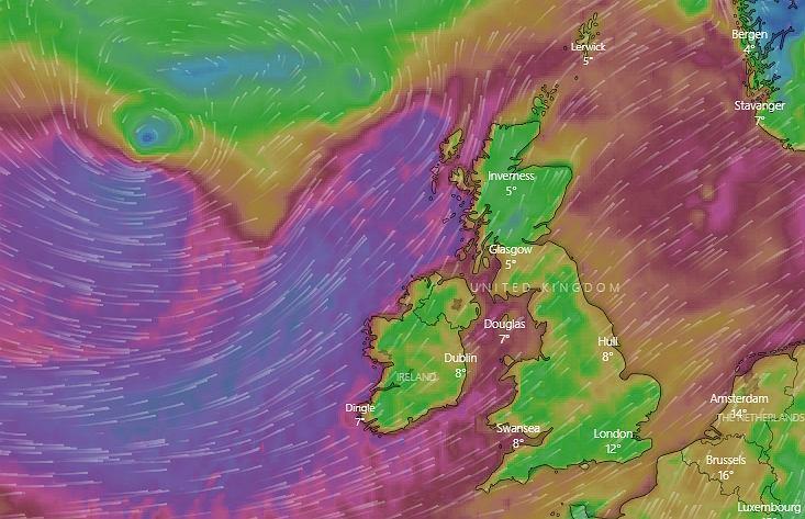Pogoda. Sztorm Dennis uderzy w Europę Zachodnią (zdjęcie ilustracyjne)