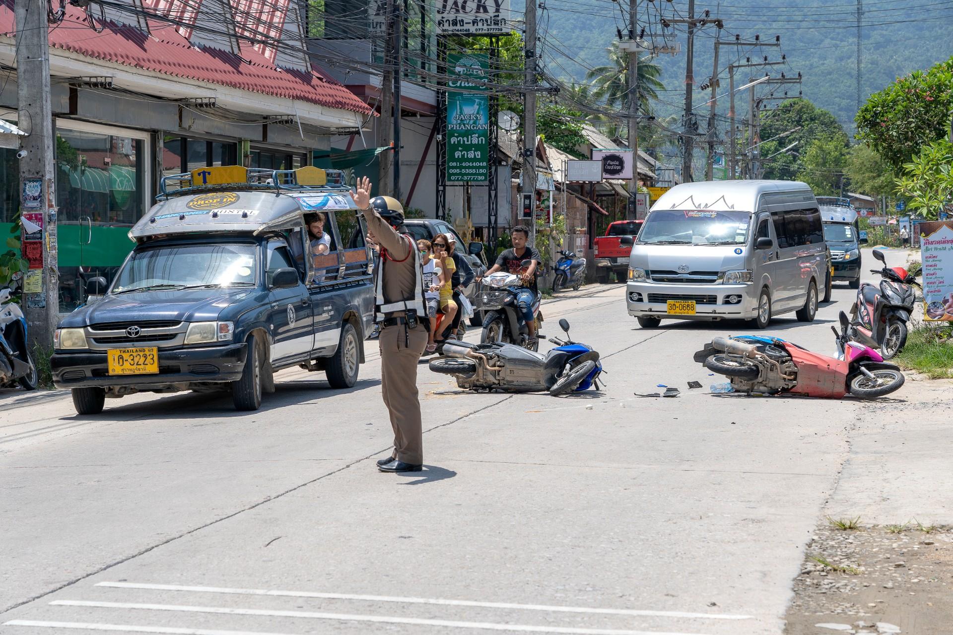 Wypadki w Tajlandii często kończą się tragicznie (fot: Shutterstock.com)