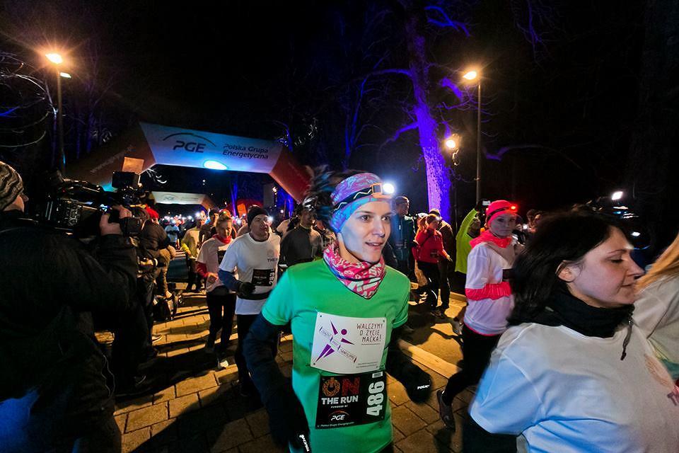 On The Run - Nocne bieganie w Łazienkach