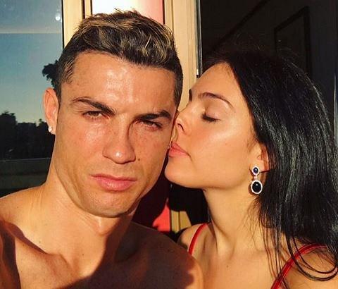 Cristiano Ronaldo z Georginą Rodriguez na wakacjach w Grecji