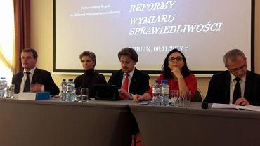 Konsultacje społeczne w sprawie reformy wymiaru sprawiedliwości w Lublinie