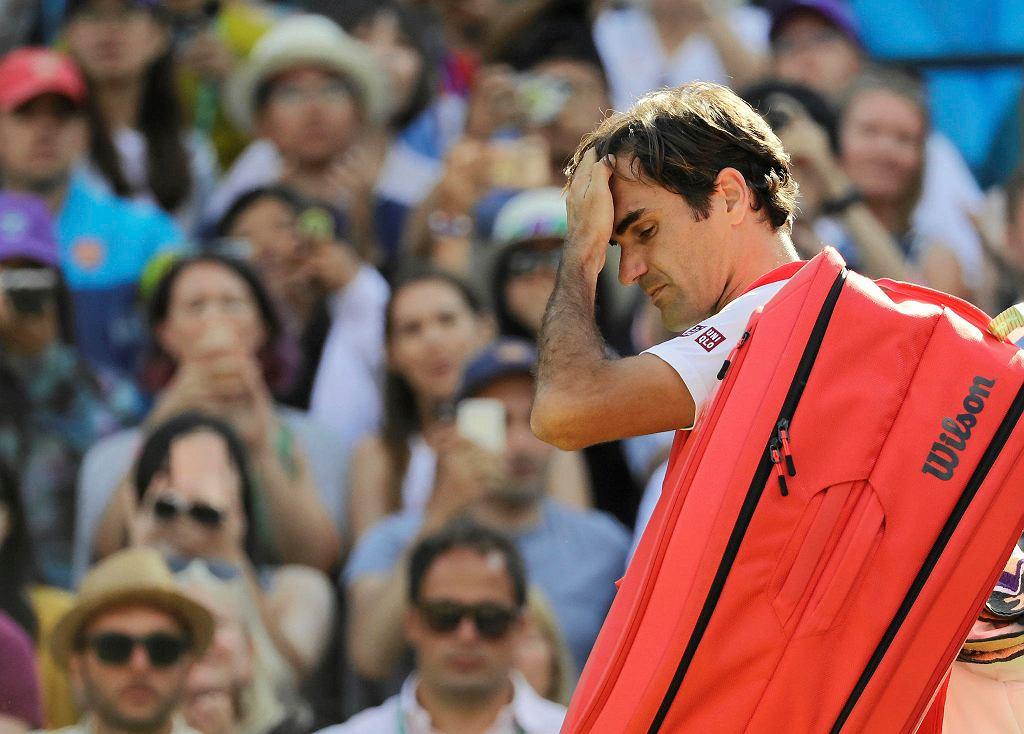Wimbledon 2018. Roger Federer przegrał w ćwierćfinale z Kevinem Andersonem