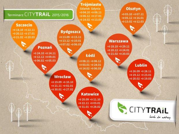 Terminarz City Trail 2015/2016
