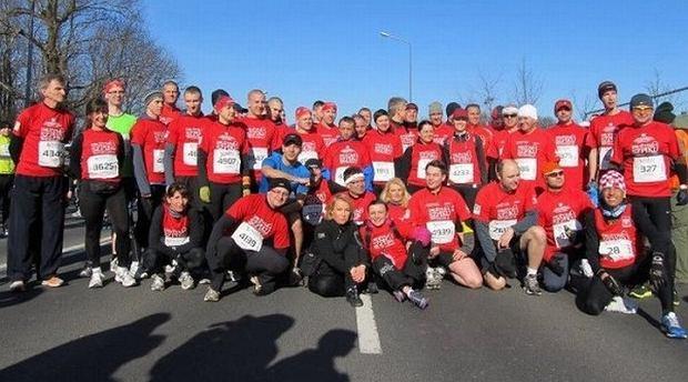 drużyna szpiku, poznań maraton
