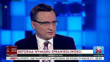 Zbigniew Ziobro w 'Minęła 20'