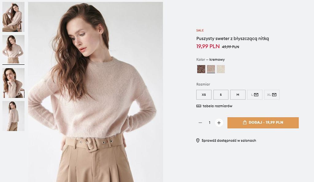 Sinsay, sweter