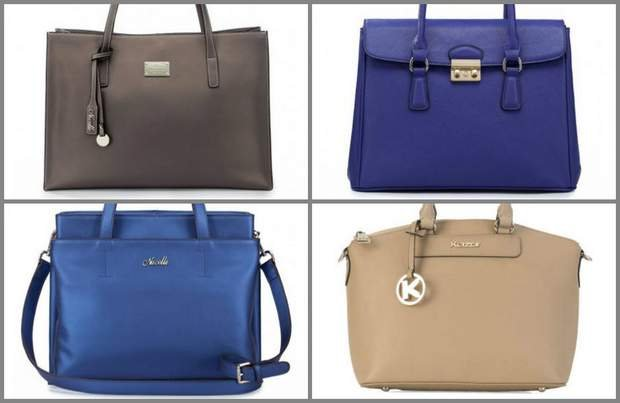 Eleganckie torebki do pracy mieszczące A4