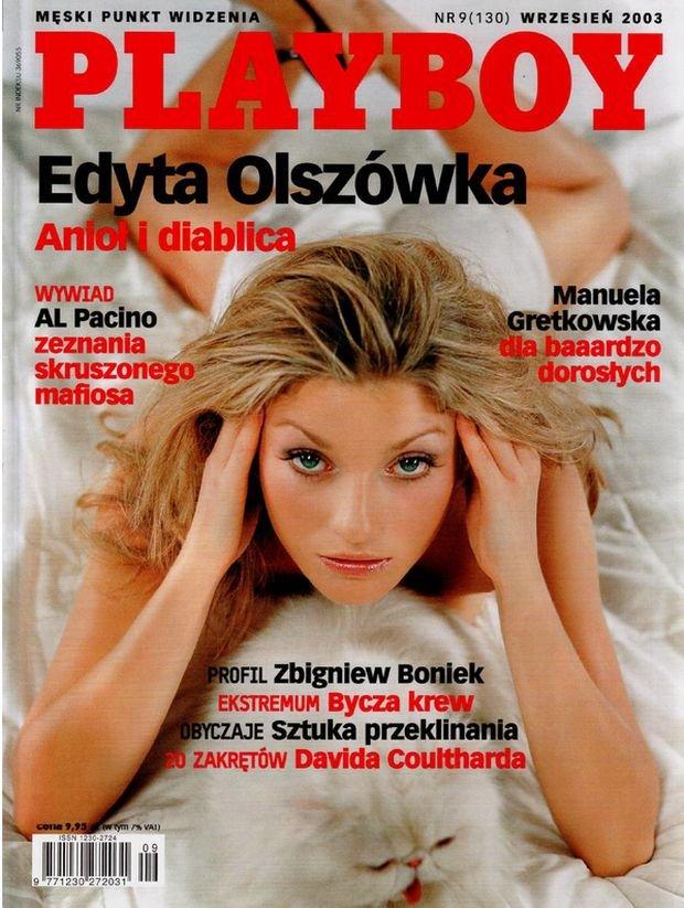 Playboy, wrzesień 2003.
