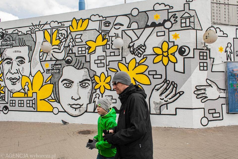 Zdjęcie numer 1 w galerii - Rocznica powstania w getcie warszawskim. Żonkil oznacza pamięć