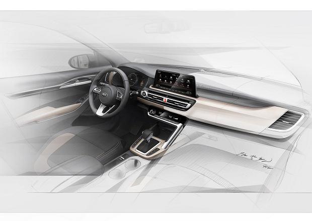 Nowy mały SUV Kii odsłania swoje wnętrze. Mamy pierwsze zdjęcia