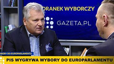 Aleksander Kwaśniewski w Poranku Wyborczym w Gazeta.pl