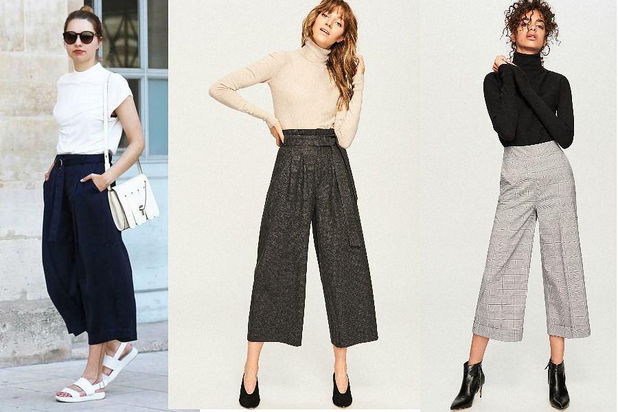 Kuloty modne spodnie na każdą porę roku