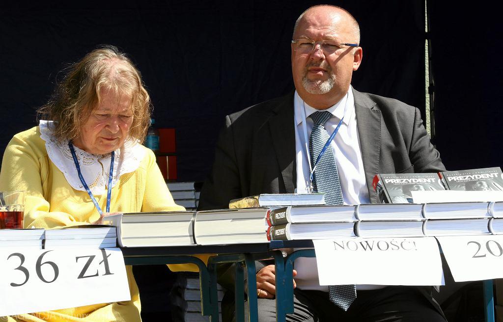 Janina Goss i Krzysztof Ciebieda