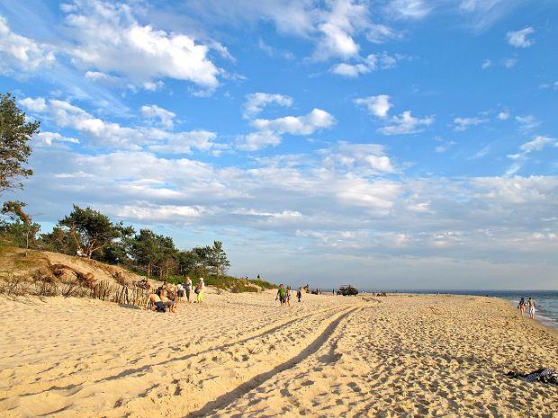 Plaża w miejscowości Hel