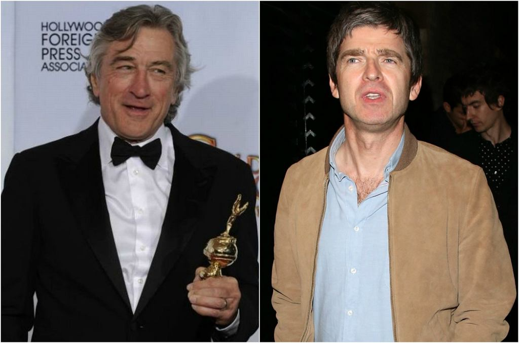 Robert De Niro, Noel Gallagher