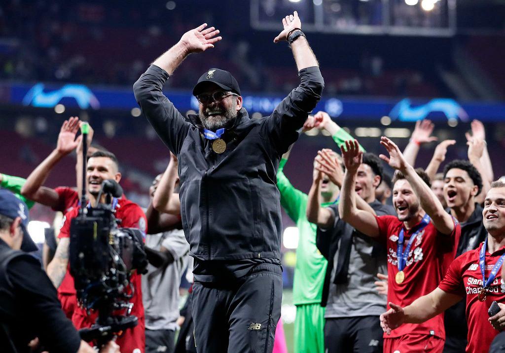 Trener FC Liverpool Juergen Klopp