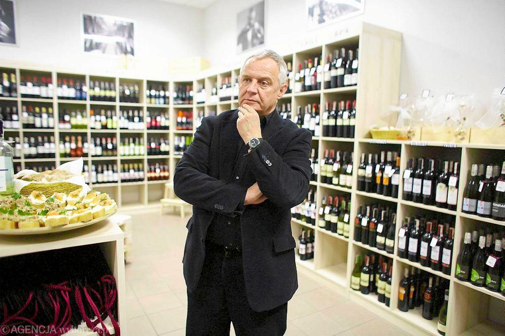 Marek Kondrat otworzył sklep z winami w OFF Piotrkowska