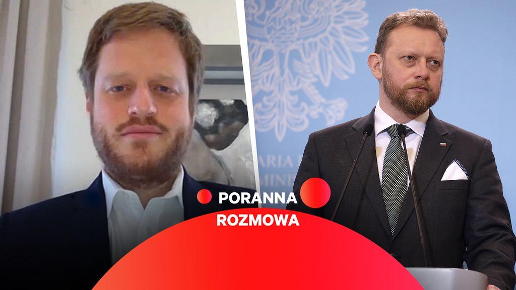 Janusz Cieszyński gościem Porannej rozmowy Gazeta.pl