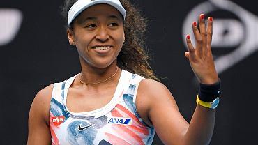 Naomi Osaka podczas Australian Open 2020