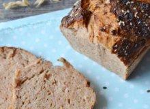 Chleb orkiszowy z pomidorami - ugotuj