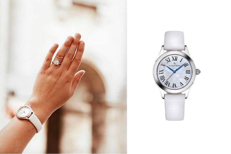 zegarek na pasku