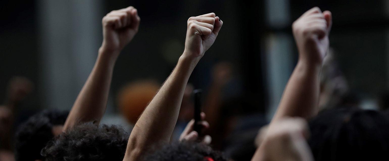 Protest Black Lives Matter (Fot. Silvia Izquierdo / AP Photo)